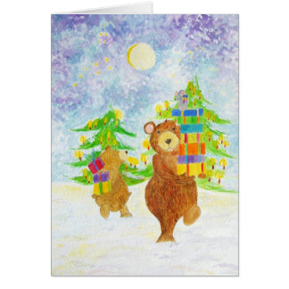 Christmas card1 greeting card