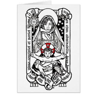 Christmas Card 2014: A Virgin Shall Conceive
