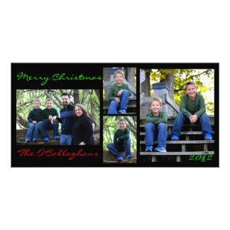 Christmas Card - Black Background