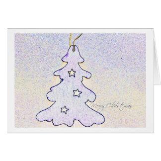 christmas card christmas tree tarjeta de felicitación