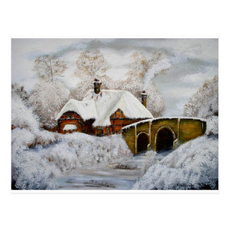 Christmas Card Cottage