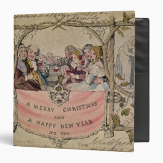 Christmas Card, example of the known Christmas 3 Ring Binder