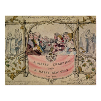 Christmas Card, example of the known Christmas Postcards