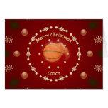 Christmas Card For Basketball Coach