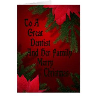 Christmas Card For Dentist