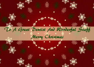 Dentist christmas cards zazzle christmas card for dentist and staff m4hsunfo