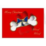 Christmas card for dog Christmas card from dog
