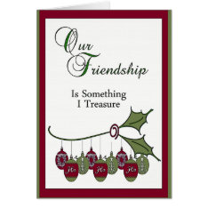 Christmas Card For Friend at Zazzle
