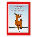 Christmas Card For Godson