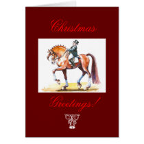 Christmas Card for Horse Lovers.