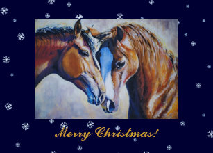 Horse lovers christmas cards zazzle christmas card for horse lovers m4hsunfo