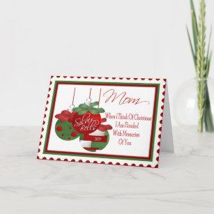 Merry mom christmas cards zazzle christmas card for mom m4hsunfo