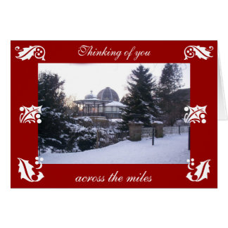 Christmas card from Buxton