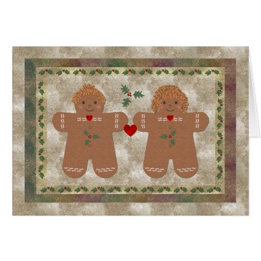 Christmas Card ~ Gingerbread cookies