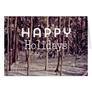 Christmas Card - Happy Holidays