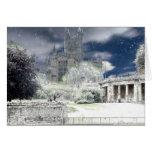 Christmas card image of Bath