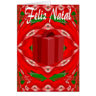 Christmas Card In Portuguese