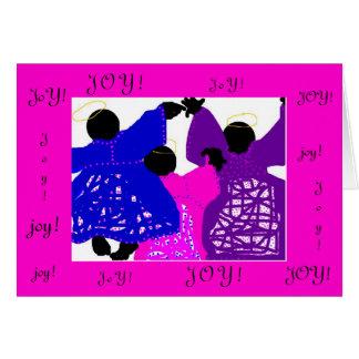 Christmas Card/Joy Angels Card