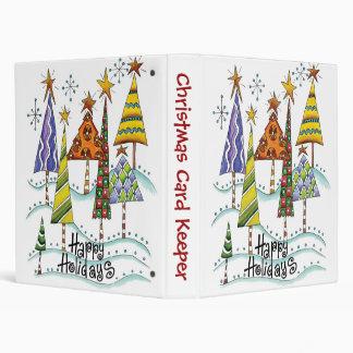 Christmas Card Keeper 3 Ring Binders