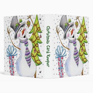 Christmas Card Keeper Binder