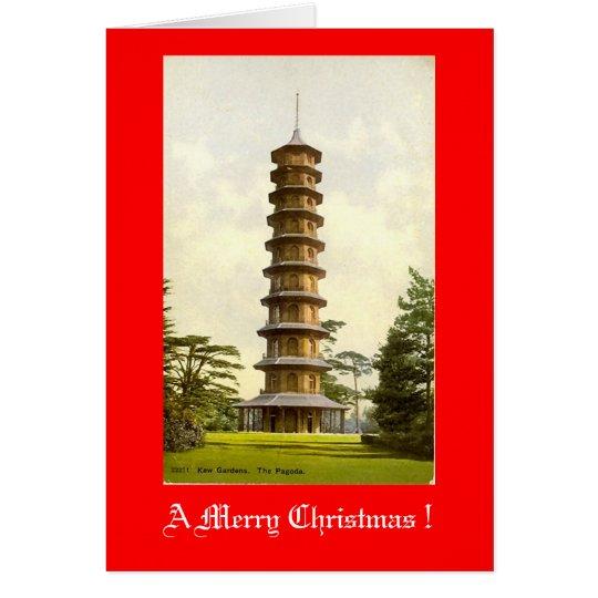 Christmas Card, Kew Gardens Card