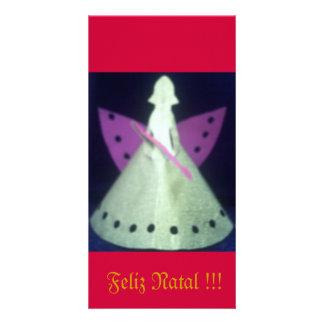Christmas card Kirigami Angel