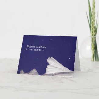 Christmas Card- Krenta Snaiges