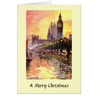 Christmas Card - London, Westminster