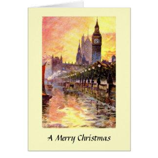 Christmas Card - London, Westminster