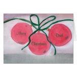 Christmas Card, Merry, Dad, Christmas