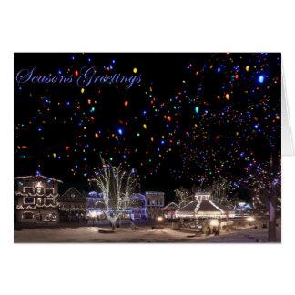 Christmas Card:  'Northern Lights' Card