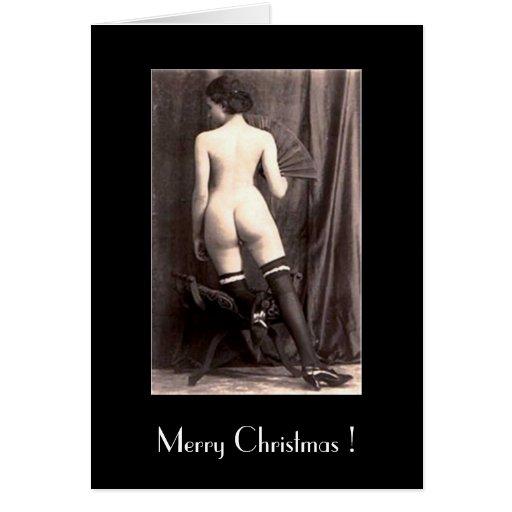 Christmas Card - Nude