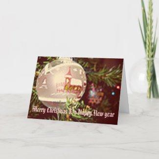 christmas card (Ornament) card