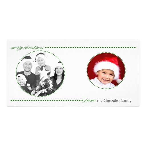 Christmas Card Personalized Photo Card