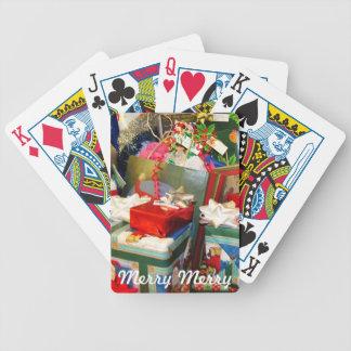 Christmas Card Playing Cards