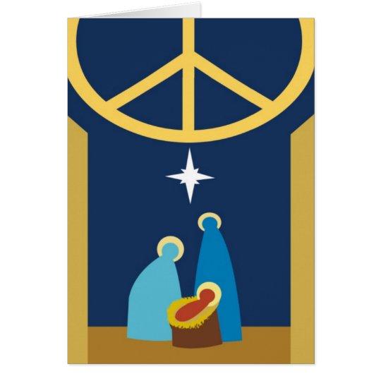 Christmas card Religious