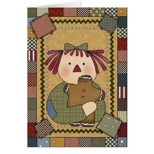 Christmas Card: Simple Joys Annie