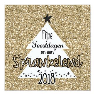 Christmas card sparkling sparkle card