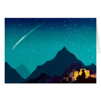 Christmas Card - Star of the Hero by N. Roerich