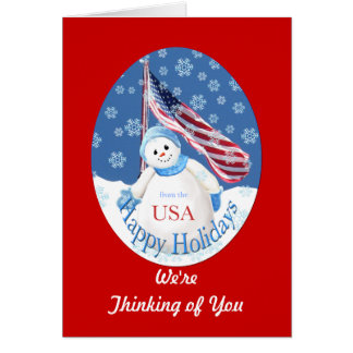 Christmas Card Thank You To Our Troops from Group