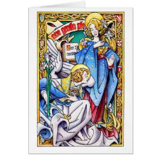 Christmas Card: The Annunciation Card