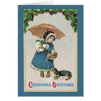 Christmas Card: Vintage Christmas