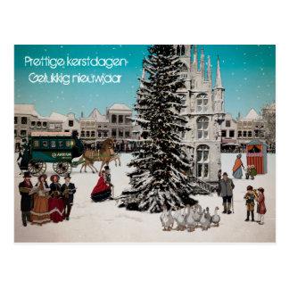 Christmas card winter in Gouda