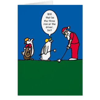 Golf Christmas Cards - Invitations, Greeting & Photo Cards | Zazzle