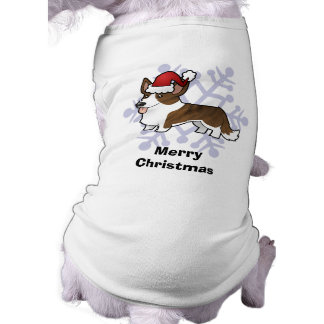 Christmas Cardigan Welsh Corgi Dog T Shirt