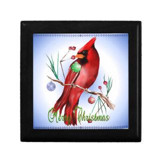 Christmas Cardinal Gift Boxes
