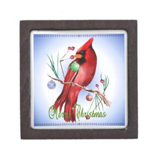 Christmas Cardinal Premium Gift Boxes
