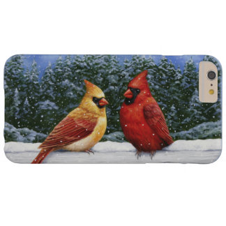 Christmas Cardinals Barely There iPhone 6 Plus Case