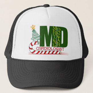 CHRISTMAS CARDIOLOGIST TRUCKER HAT