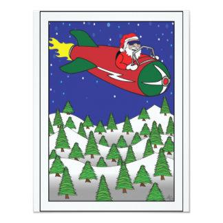 """CHRISTMAS CARDS -1 4.25"""" X 5.5"""" INVITATION CARD"""